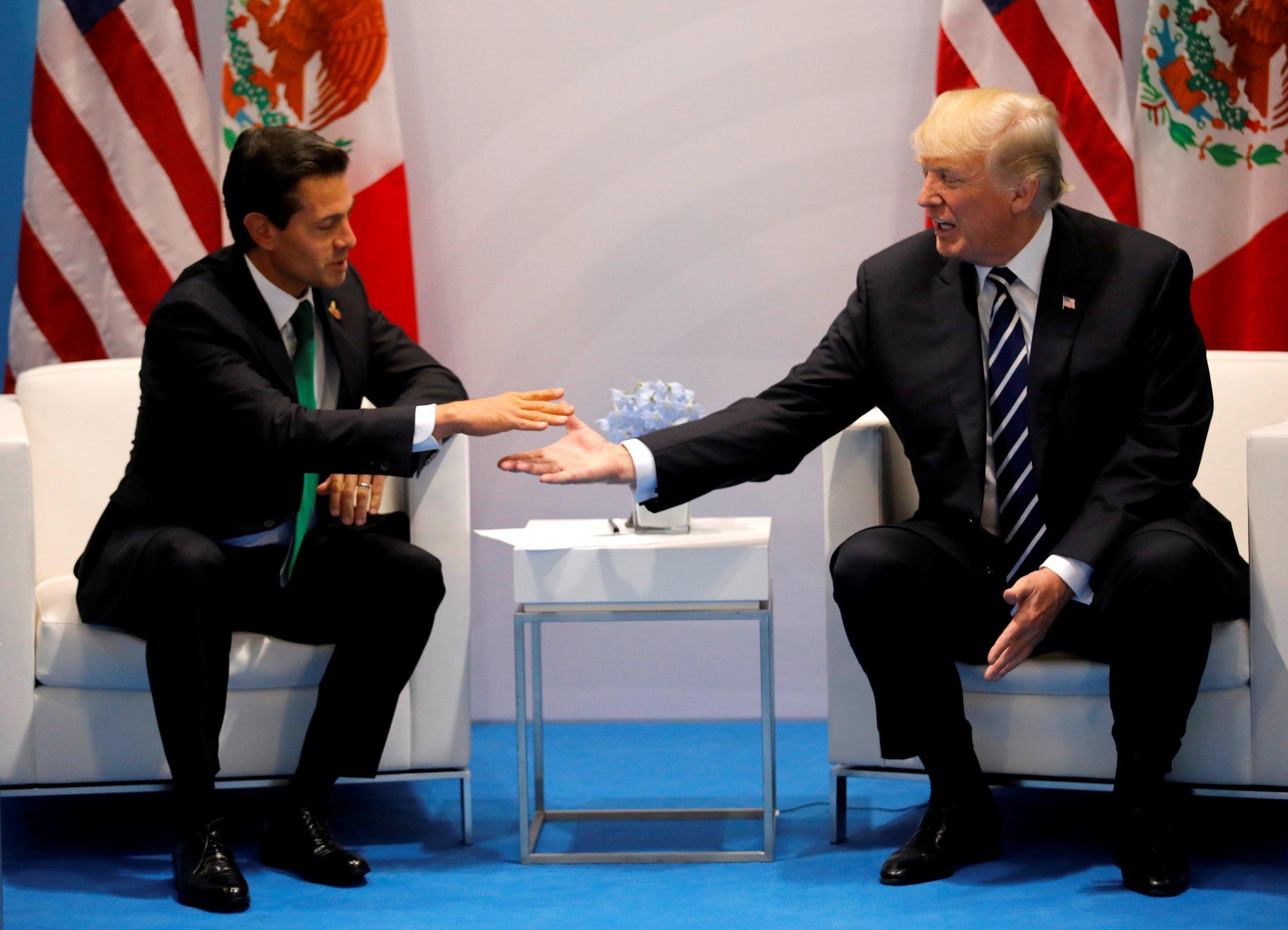 Trump, Nieto