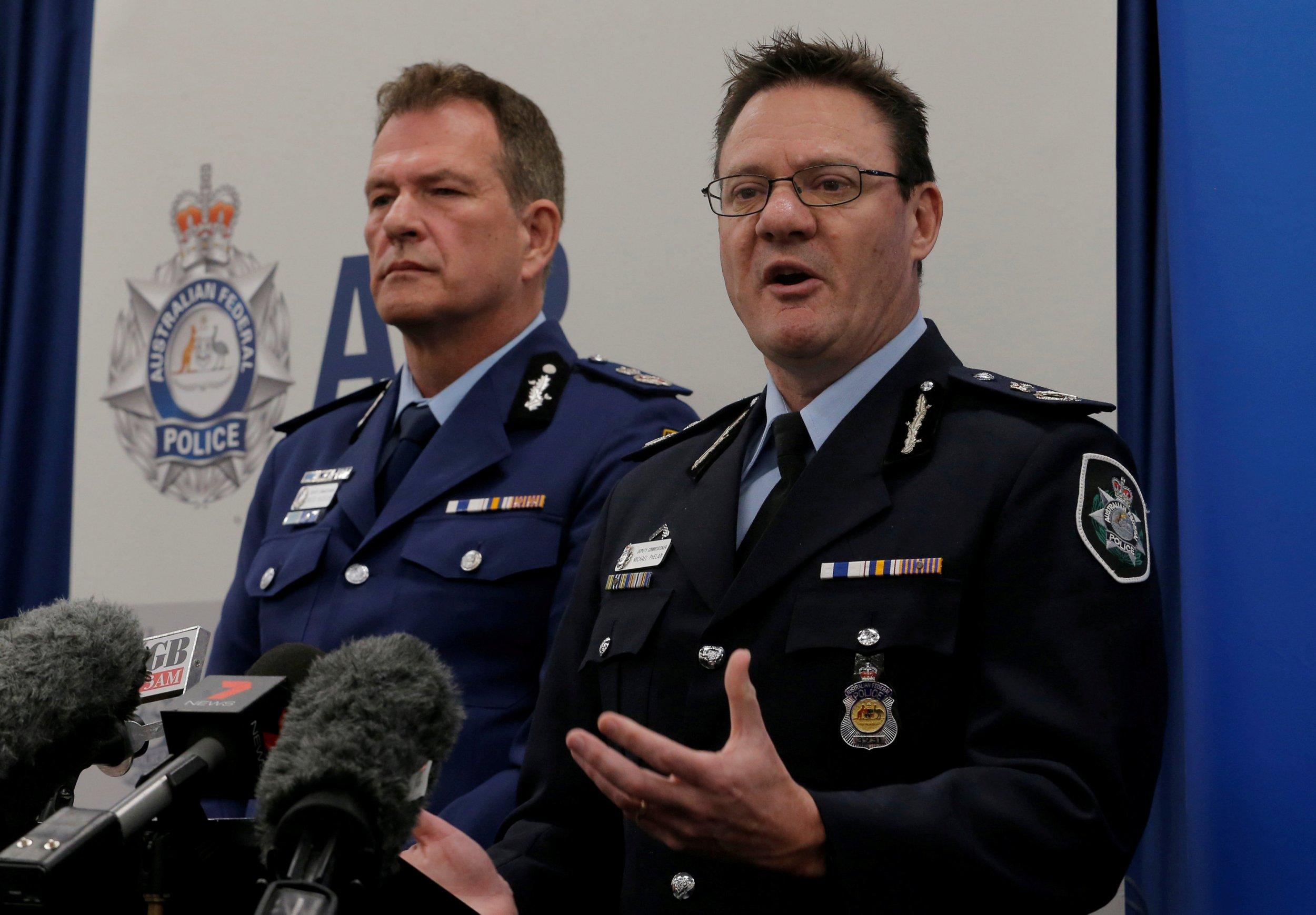 Australia terror
