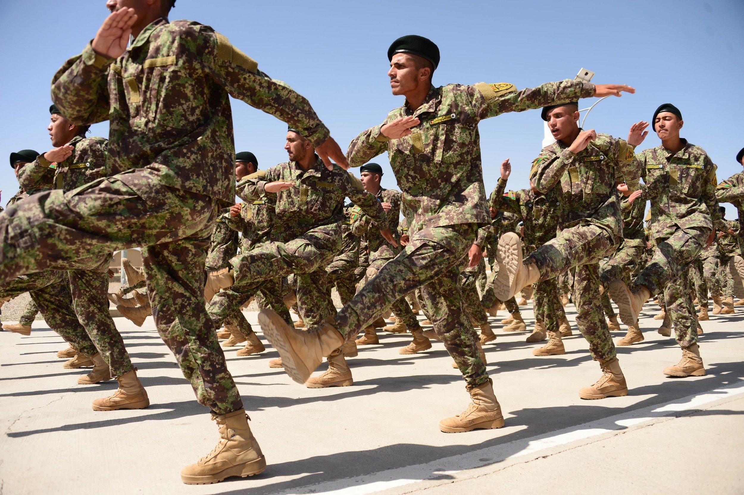 Afghan training