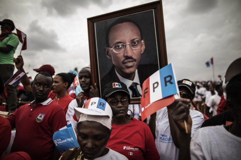 Kagame rally