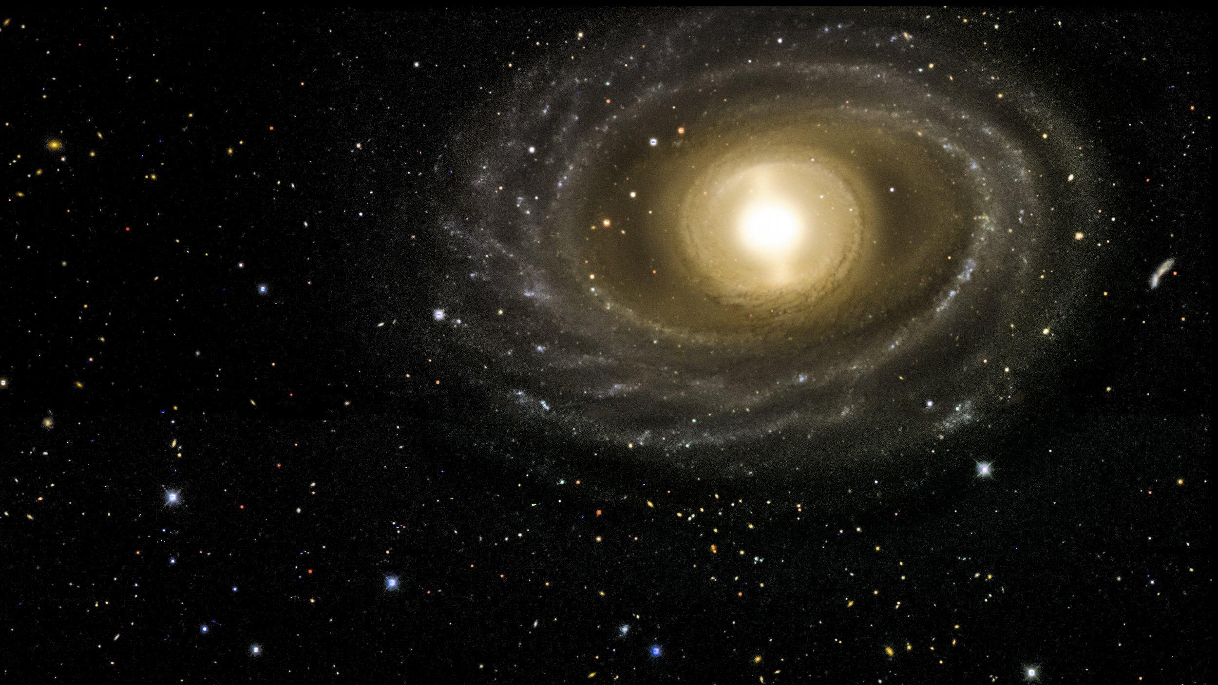NGC 1398 galaxy