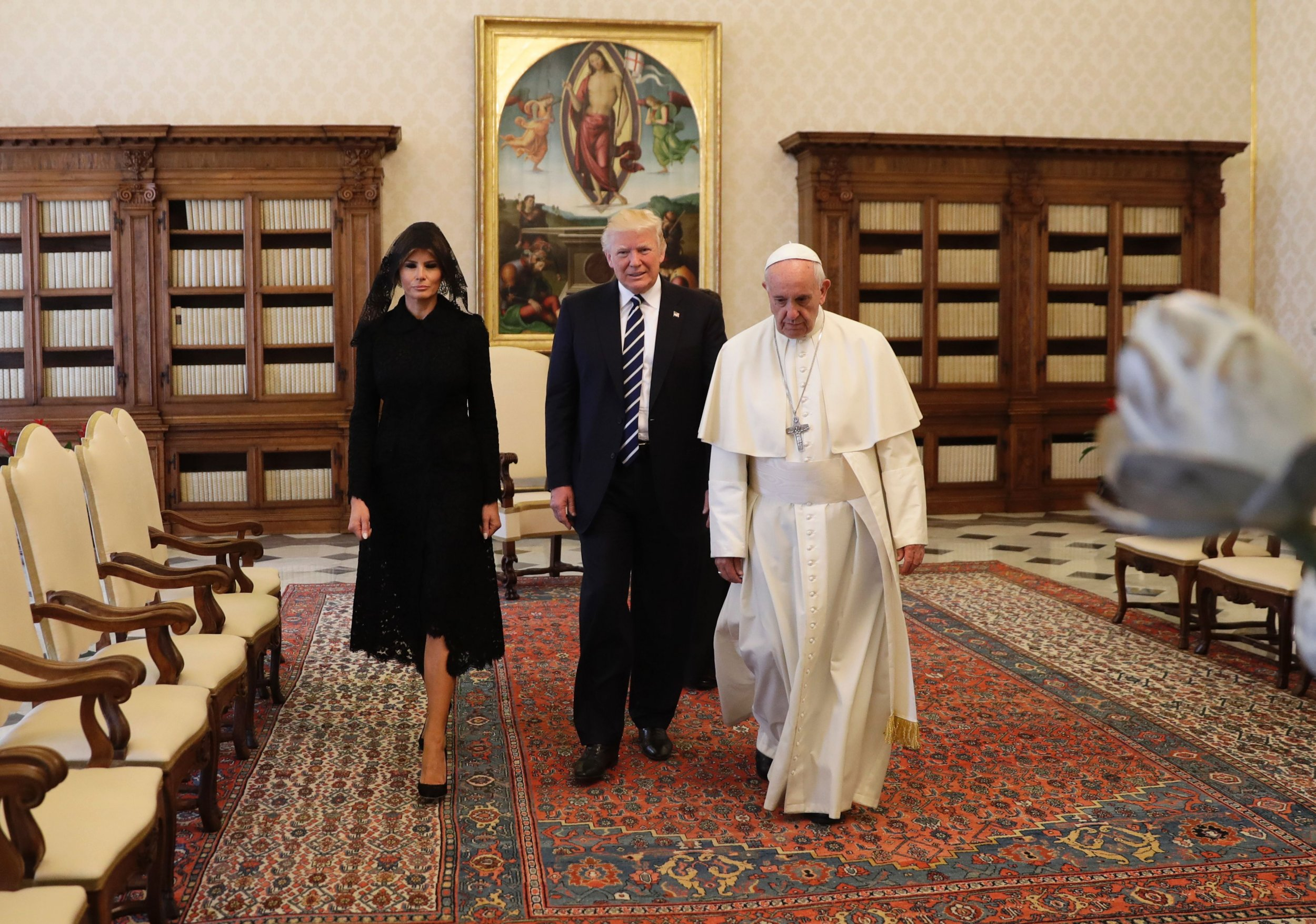 Pope and Trumps