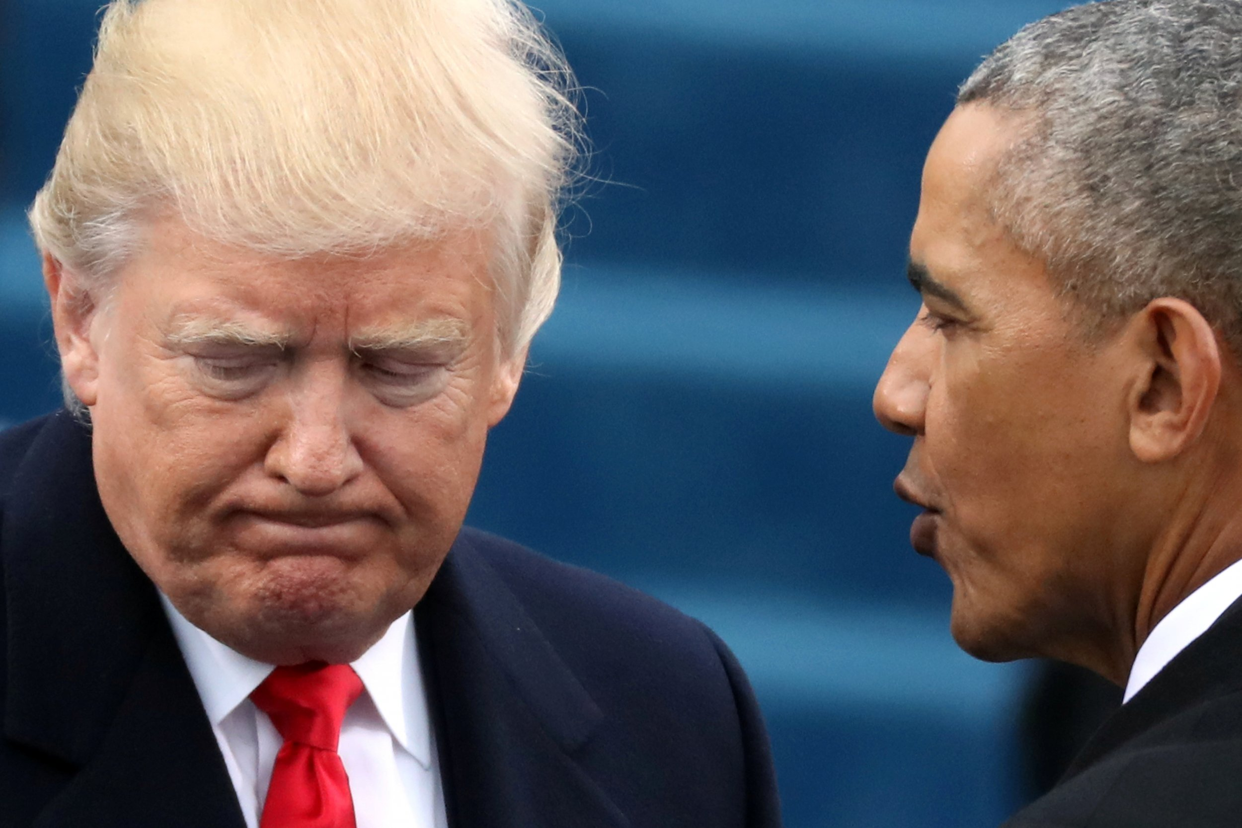 Obama approval rating soars post-Trump election pictures