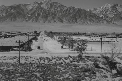 Japanese-American Internment camp