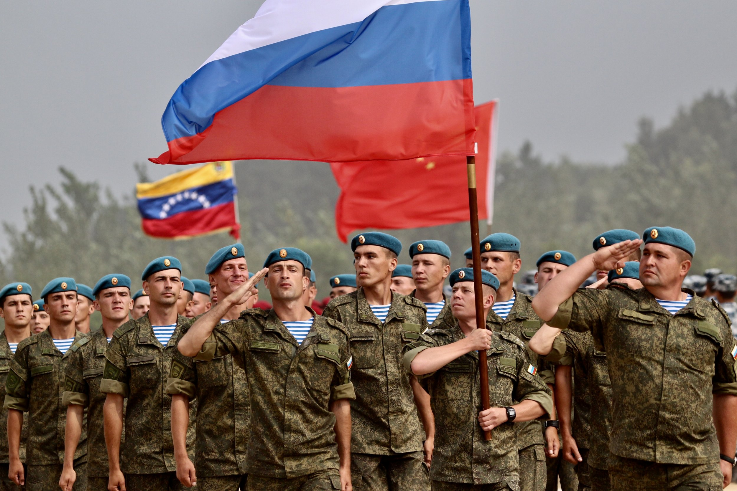 Russian Military Leads China, India and Iran in ...