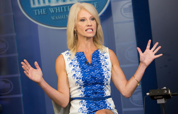 Kellyanne Conway admits Trump's approval rating is tanking