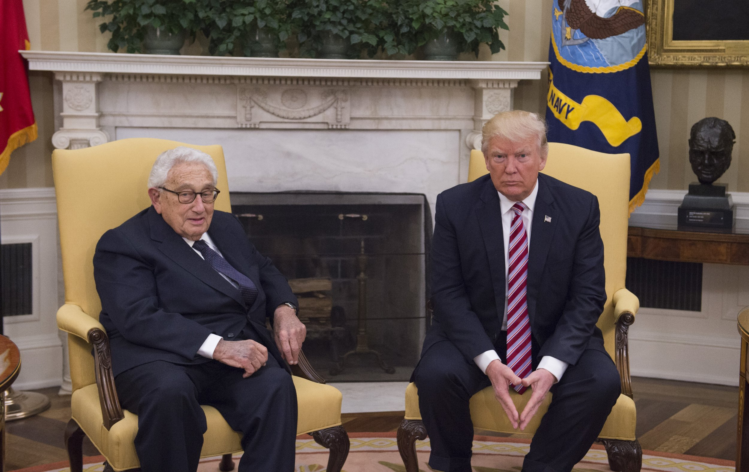 Kissinger and Trump