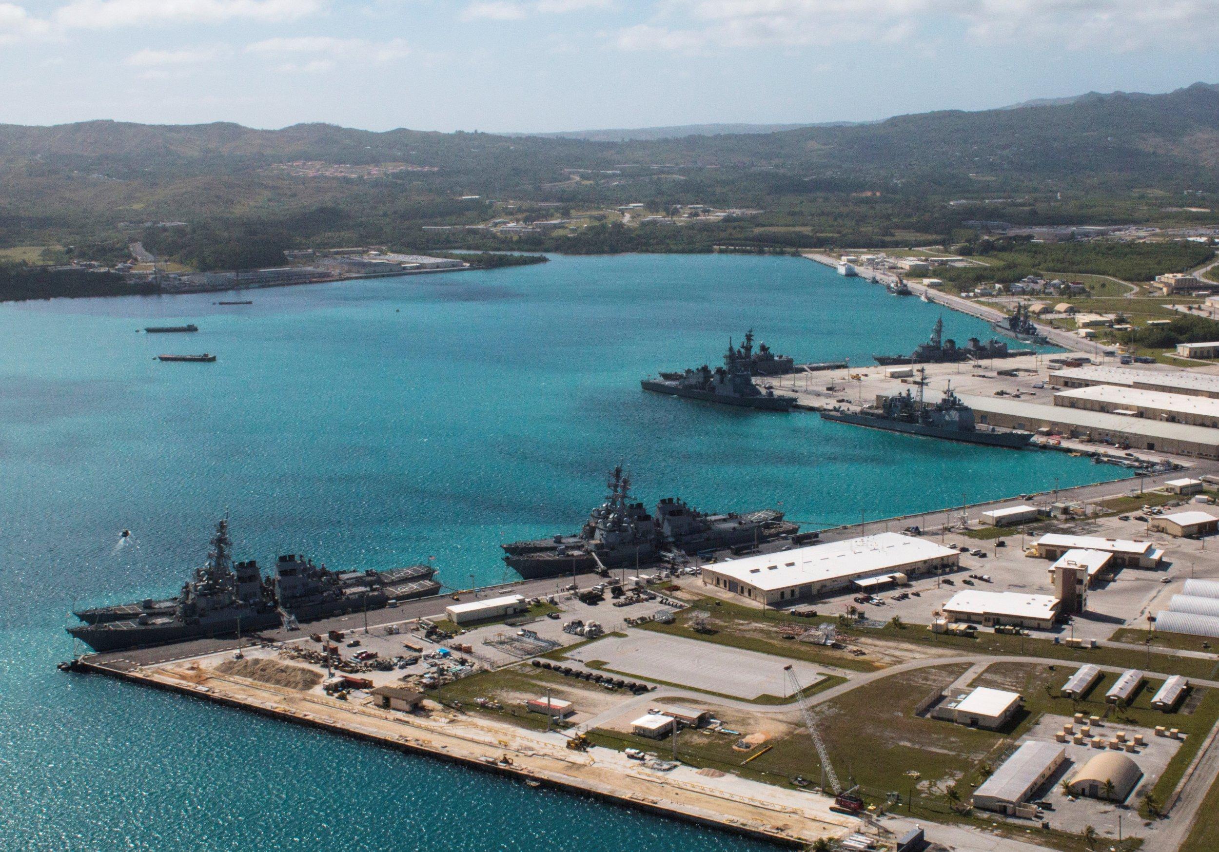 Guam navy base