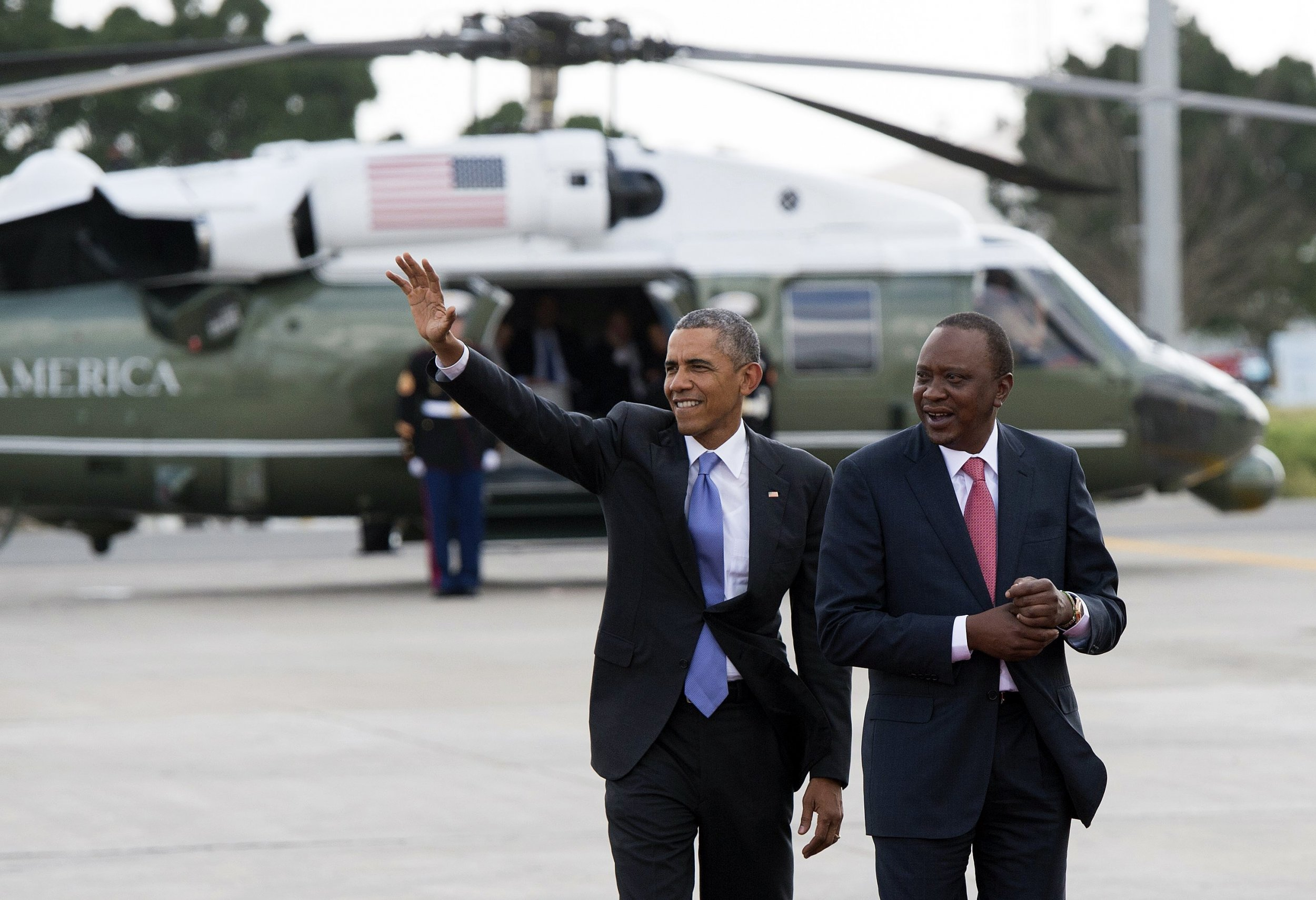 Obama and Trump: Former President Calls for Peace in Kenya Elections While Current POTUS Keeps Silent