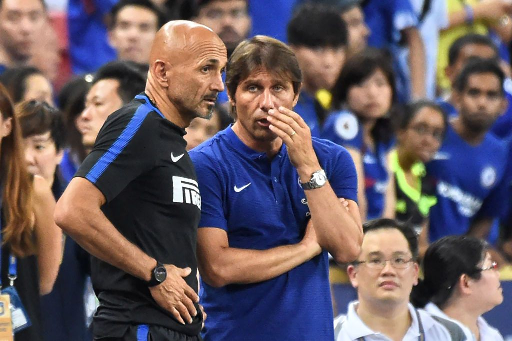 Spalletti and Conte
