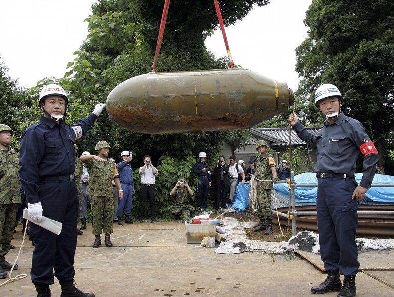 Tokyo WW2 bomb