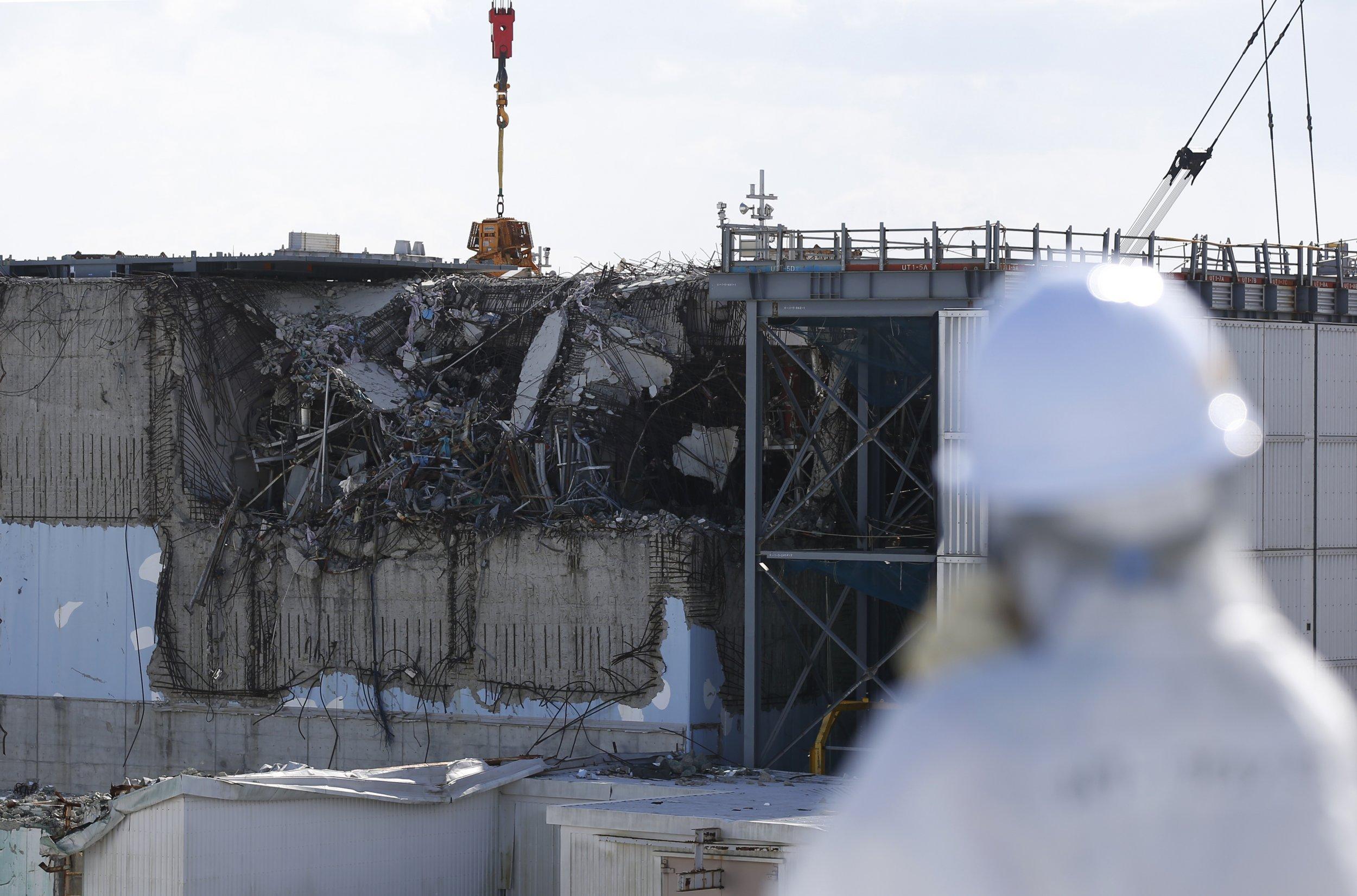 fukushima reactor damage