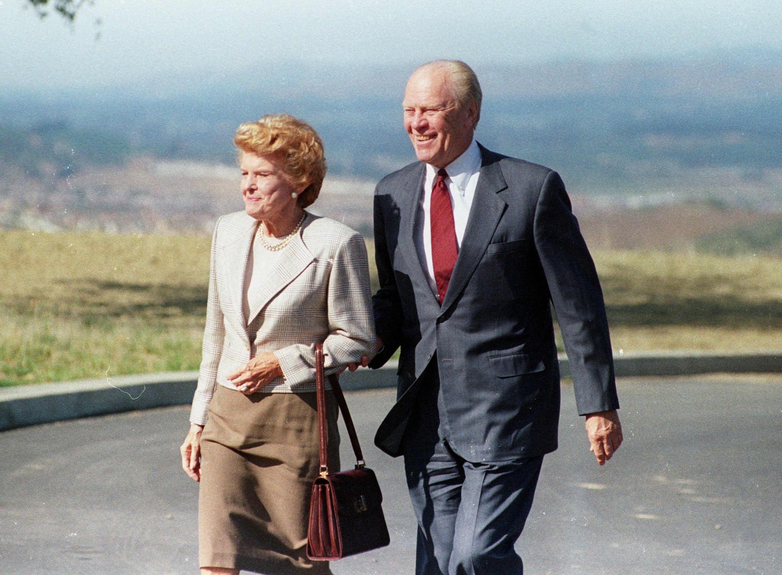 Former President Gerald Ford and wife Betty
