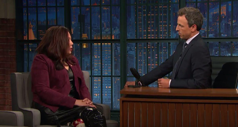 Tammy Duckworth on Late Night with Seth Meyers