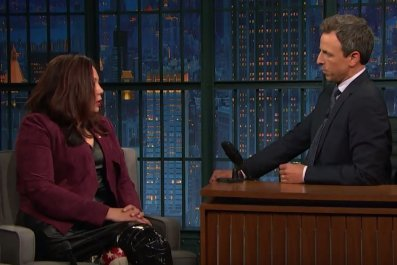 Tammy Duckworth on Late Night with Seth Meyers