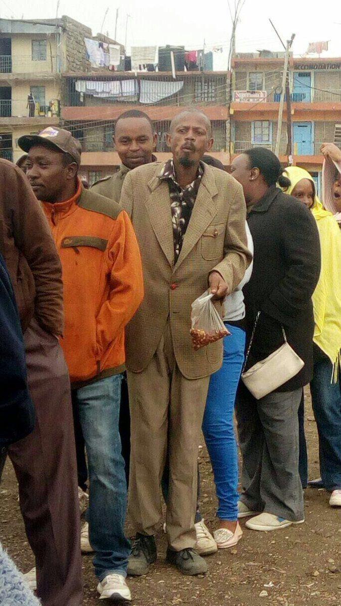 Kenya Githeri man