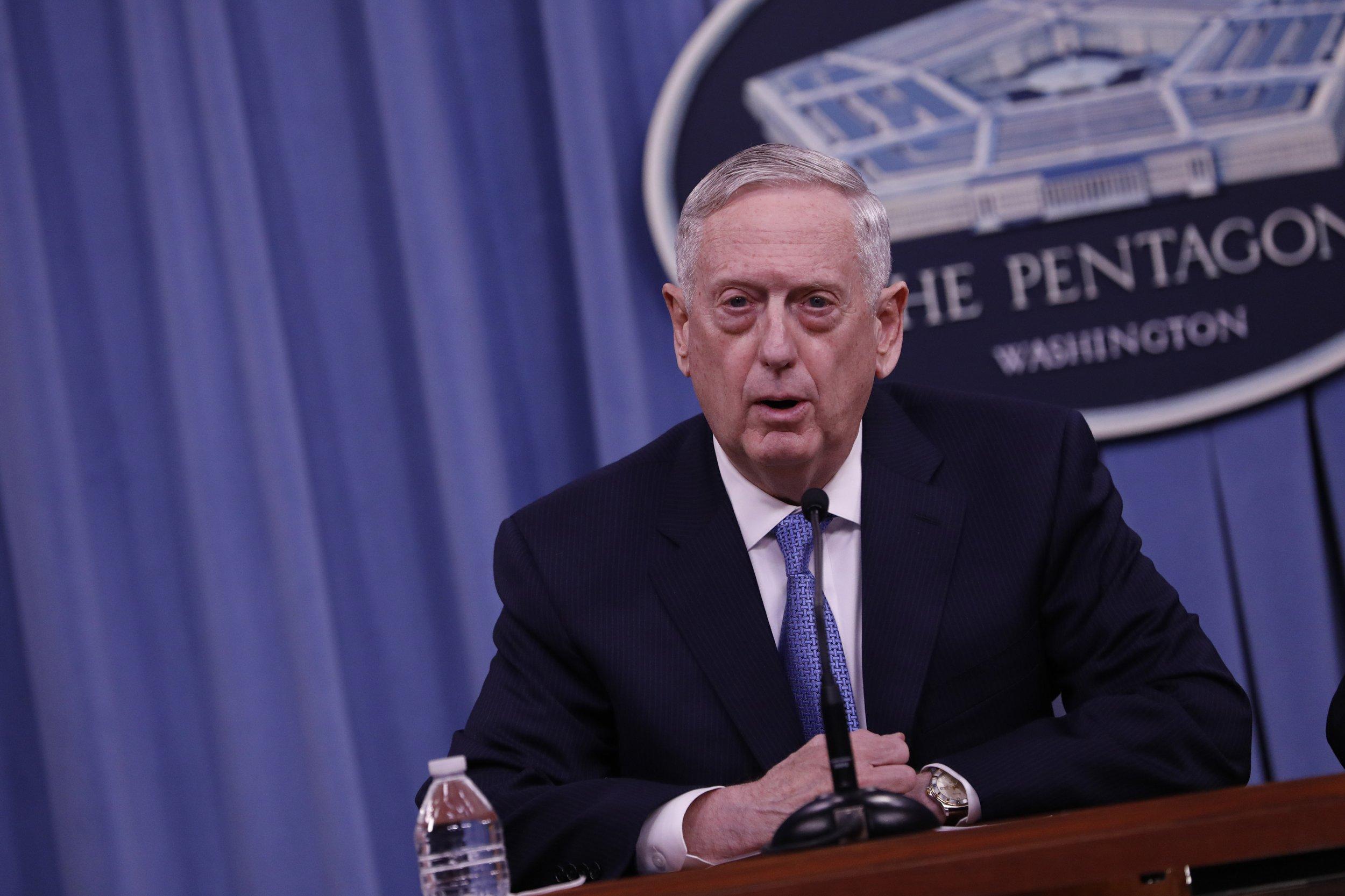 Did Mattis's threat to annihilate the Korean people go too far?