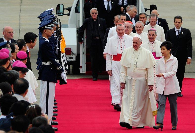 Pope South Korea