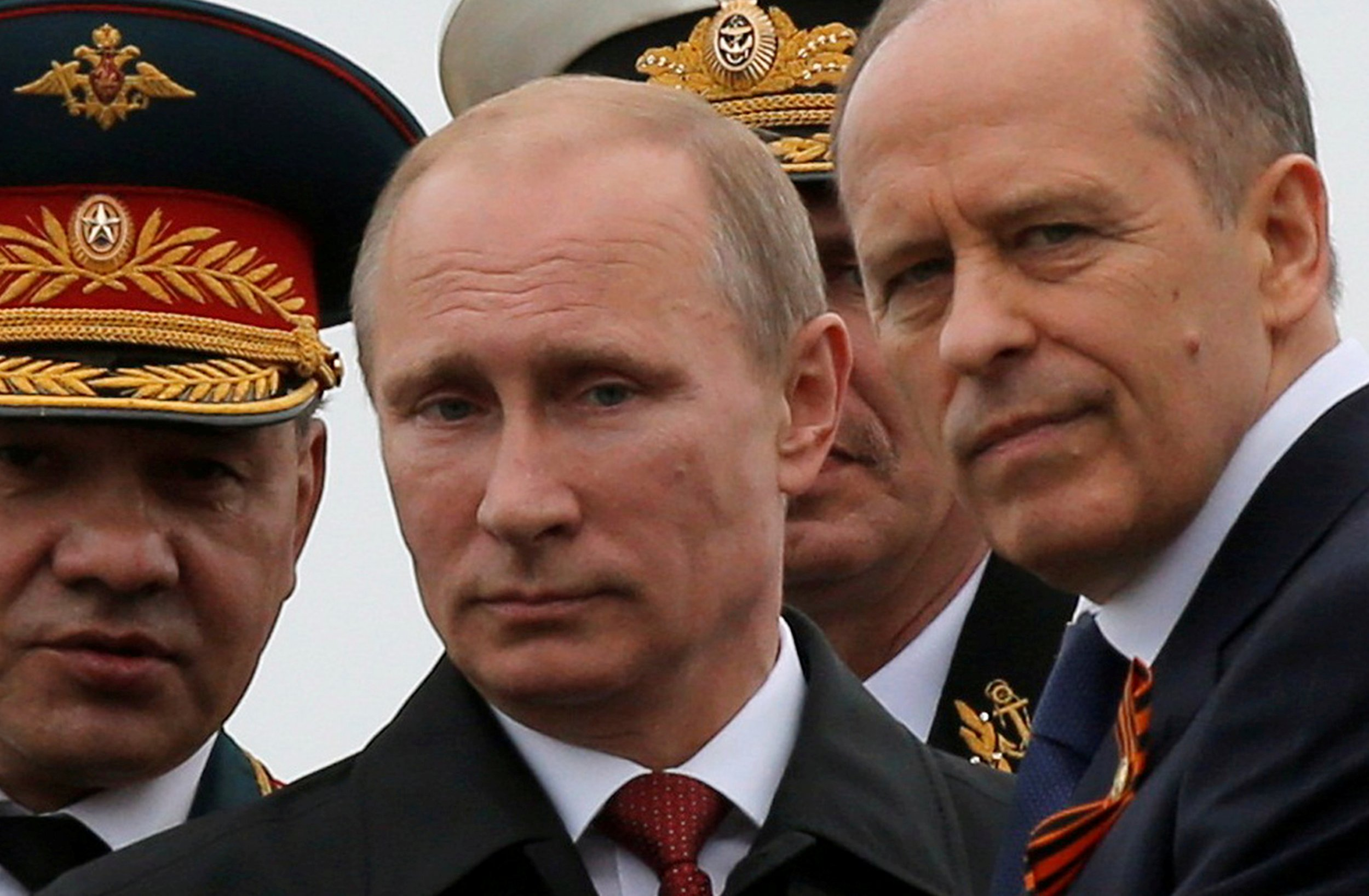 Putin and security chiefs