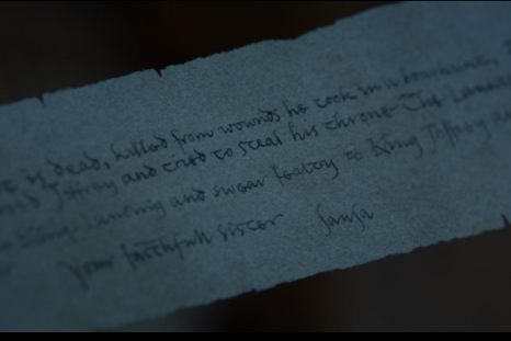 Game of Thrones letter - Eastwatch