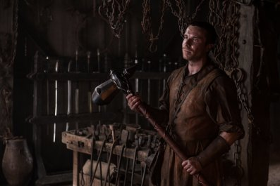 Gendry's warhammer in Game of Thrones