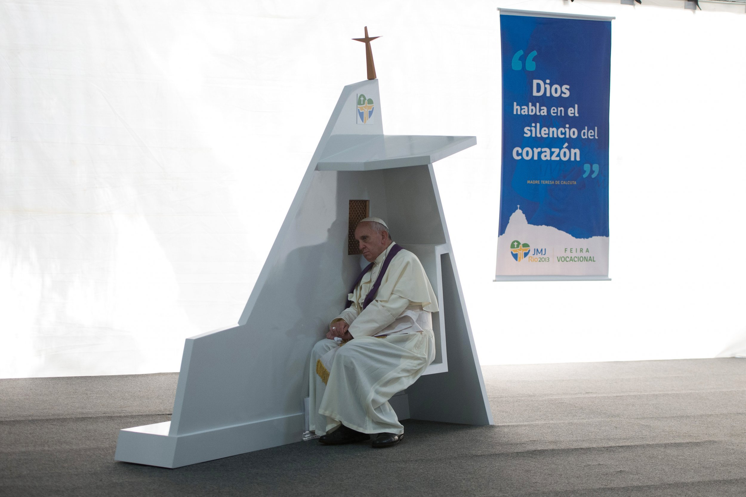 Pope Francis confession