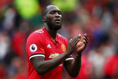 Manchester United striker Romelu Lukaku.