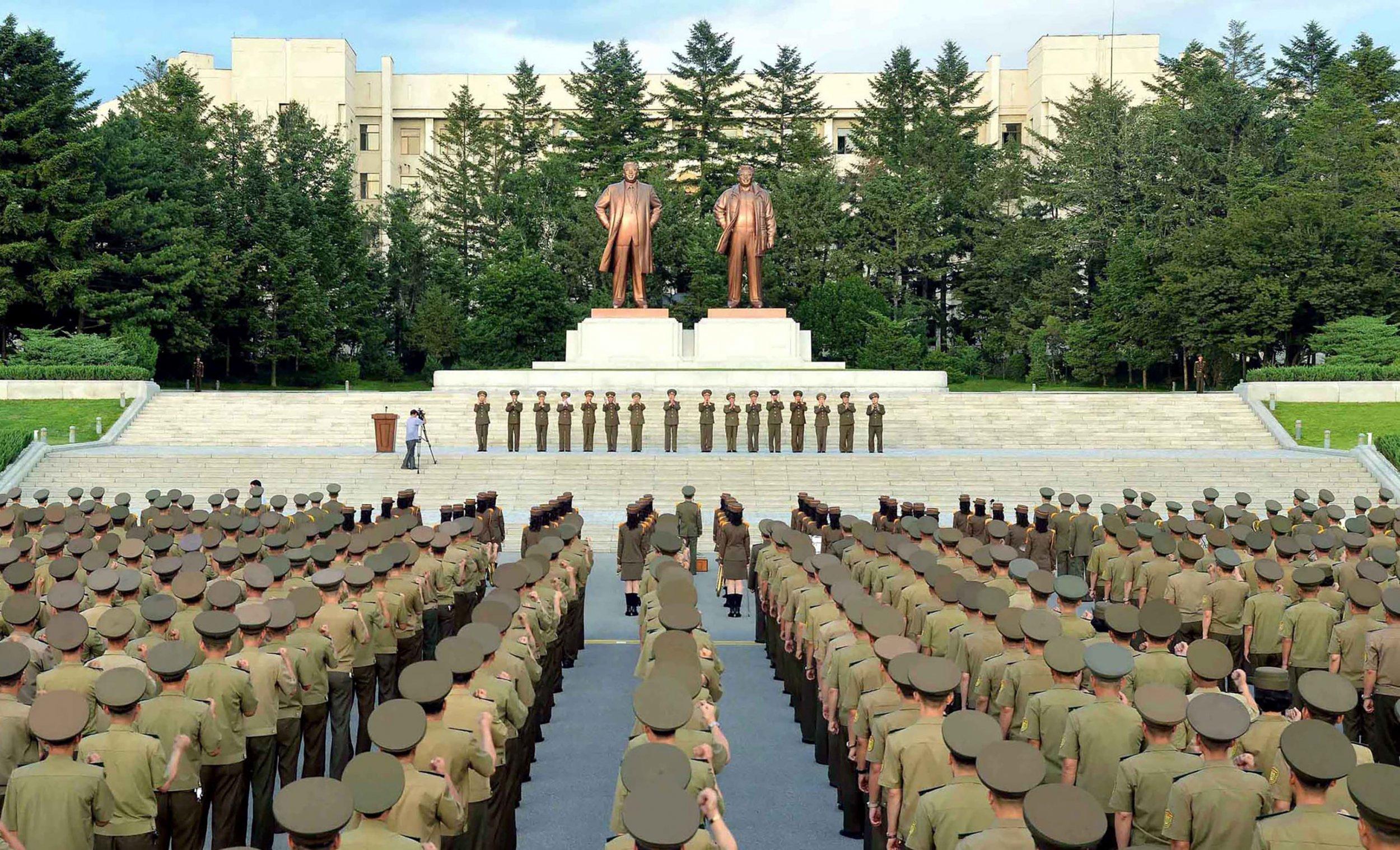Kim family monument