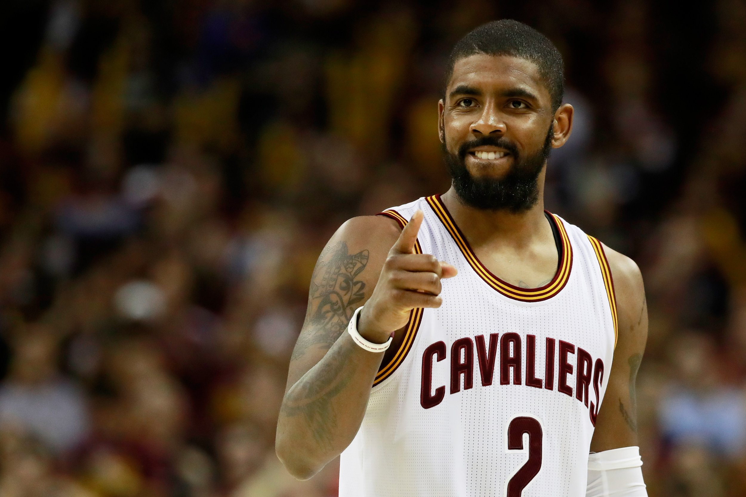 Cleveland Cavaliers point guard Kyrie Irving.