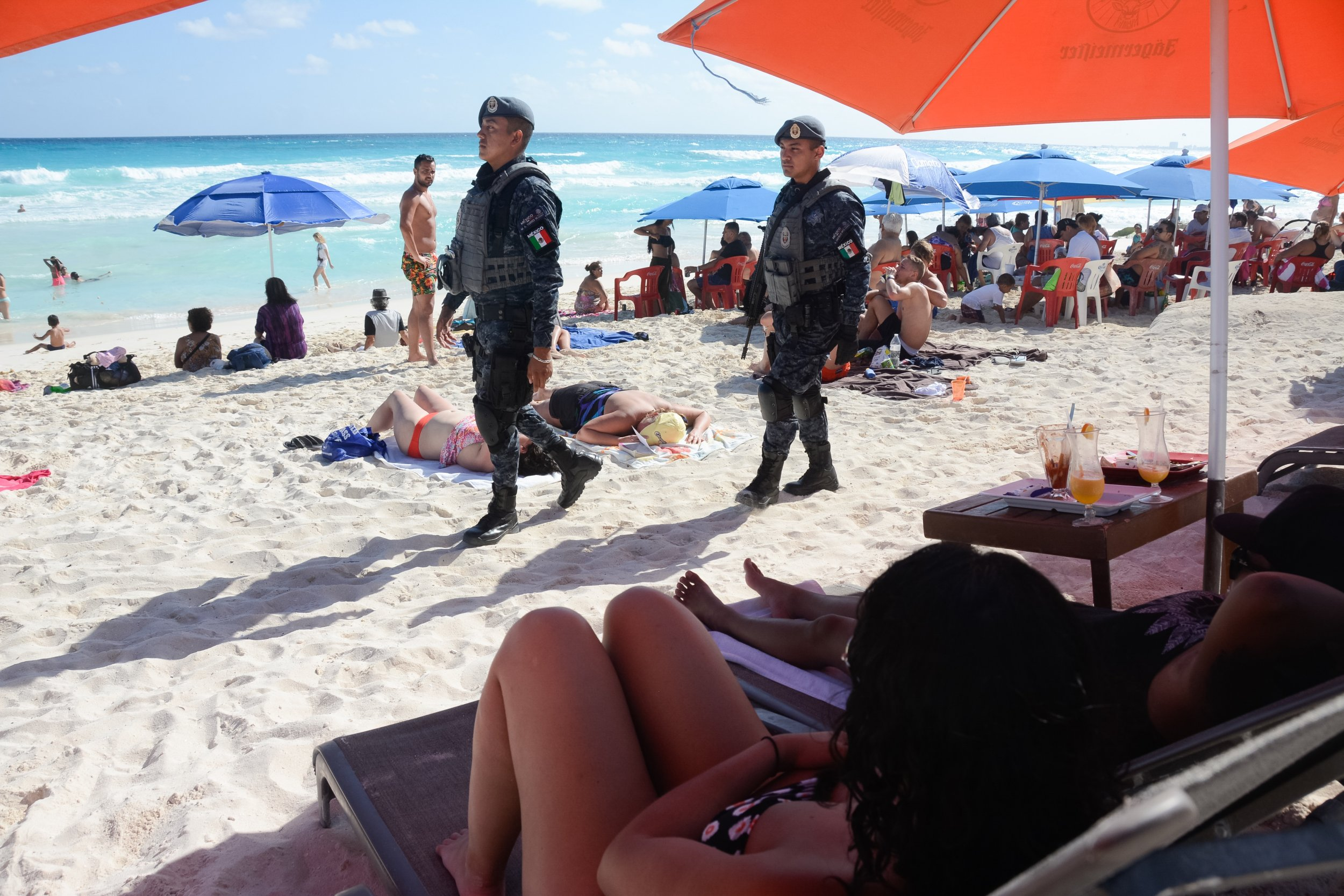 Mexican Cartel Violence In Tourist Hot Spots Canc 250 N And