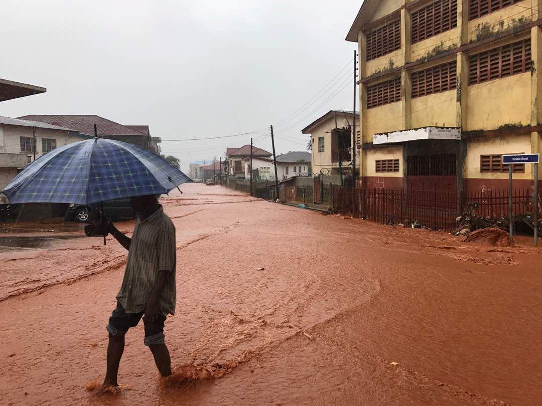 Freetown flood