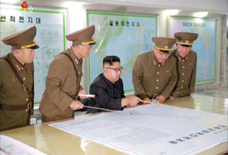 Kim Jong Un Guam plans