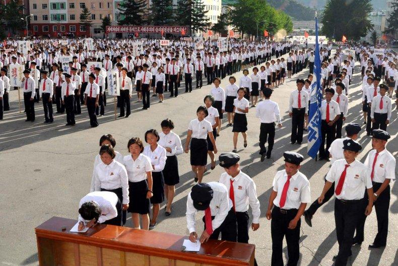 North Korean youth enlists in KPA