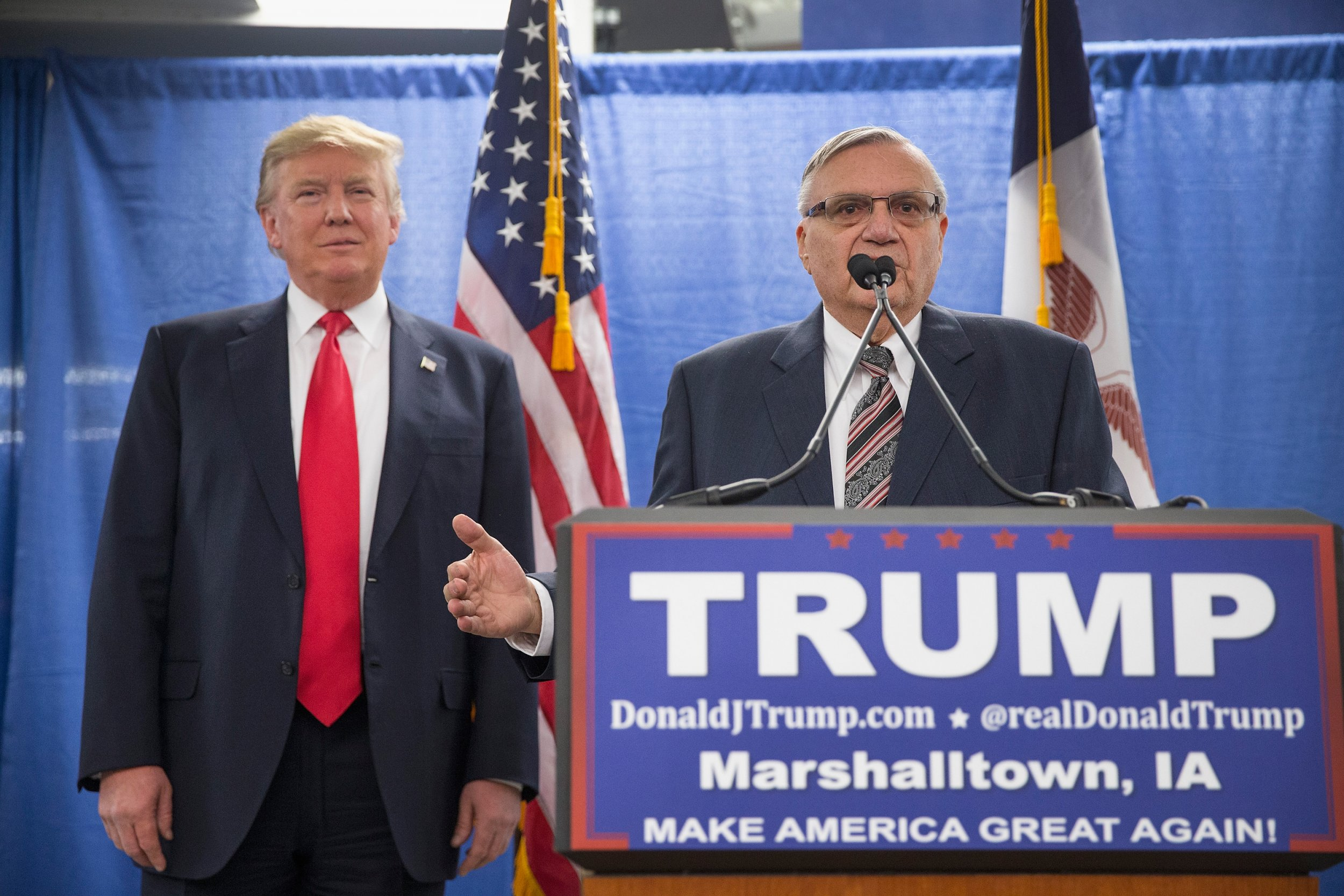 Joe Arpaio and Trump