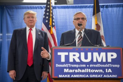 Joe Arpaio and Trump