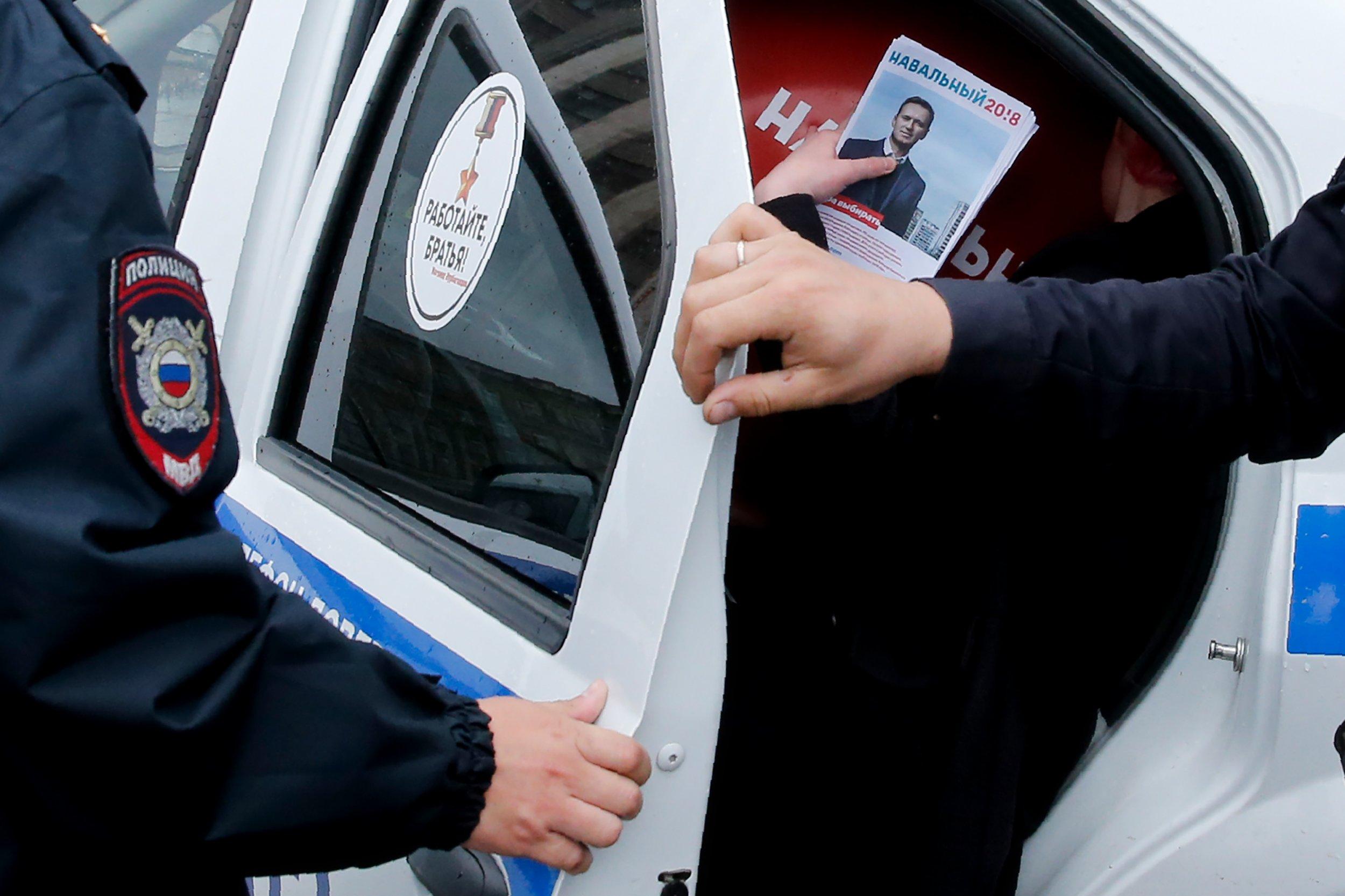 Russia, Navalny protest