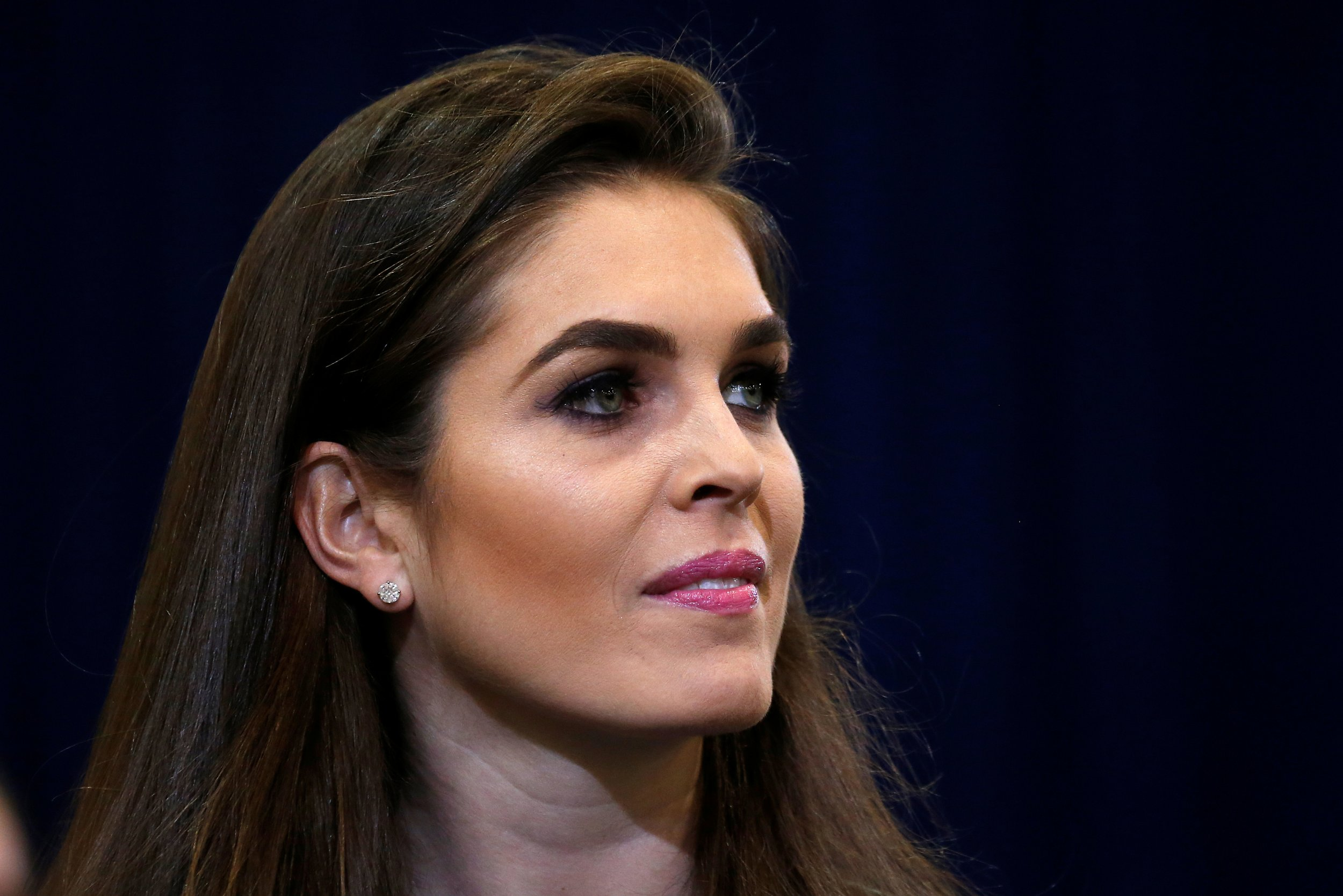 who is hope hicks, the 28-year-old reportedly tapped to be trump's