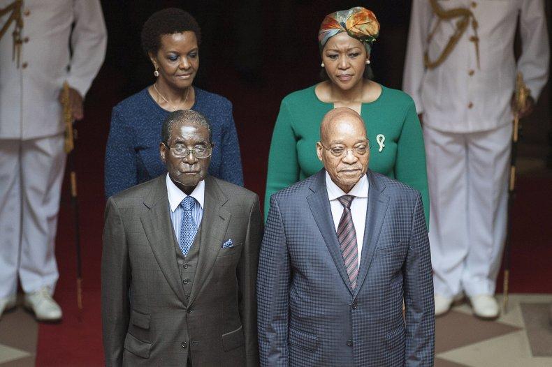 Zuma and Mugabe