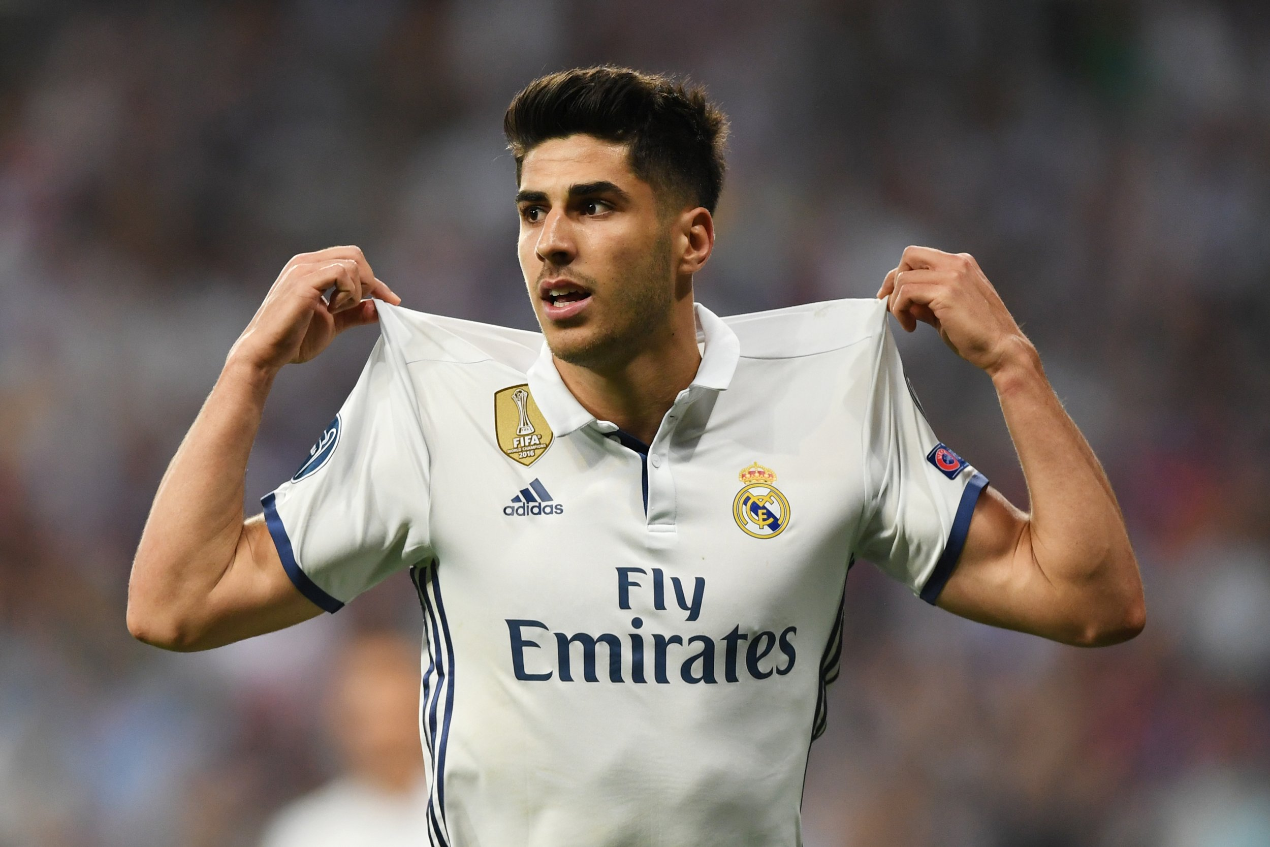 Real Madrid winger Marco Asensio.