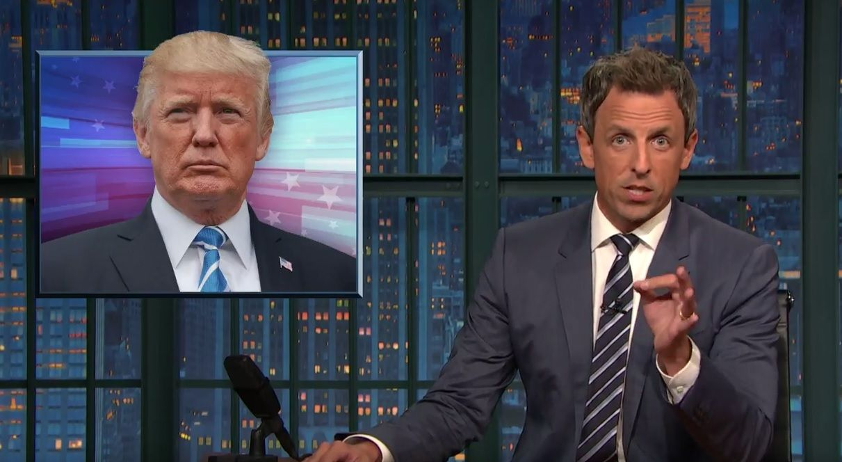 Seth Meyers: Trump is a 'lying racist'