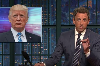 Seth Meyers: Trump is a 'lying racist'