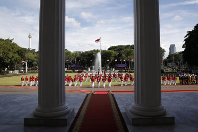 Indonesia's presidential palace