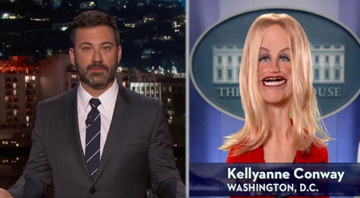 Kellyanne Conway on Jimmy Kimmel Live