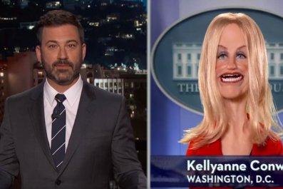 Kellyanne Conway on Jimmy Kimmel Live