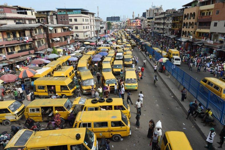 Nigeria minibuses