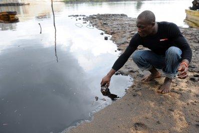 Nigeria oil spill
