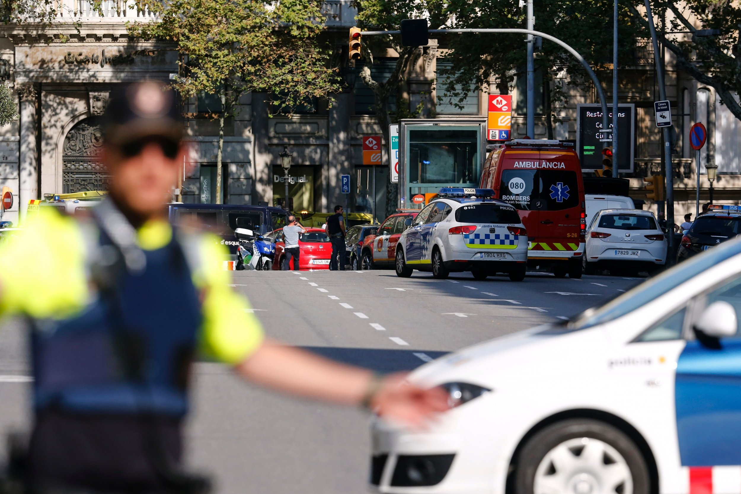 Surviving Barcelona and Cambrils attacks suspects appear at Madrid High Court