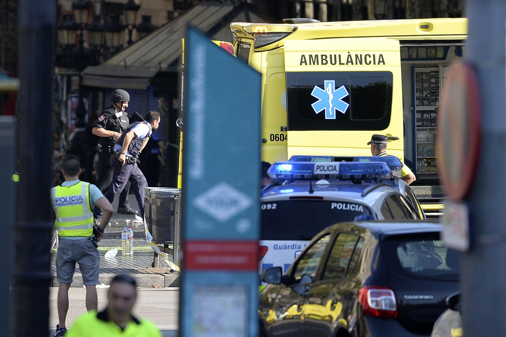 848db1fb1f Barcelona Attack Live Updates  Van Plows Into Crowd on Famous Las Ramblas