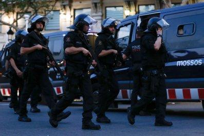Barcelona police