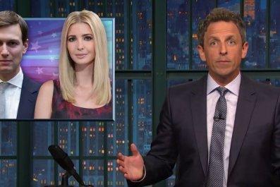 Seth Meyers on Ivanka Trump and Jared Kushner